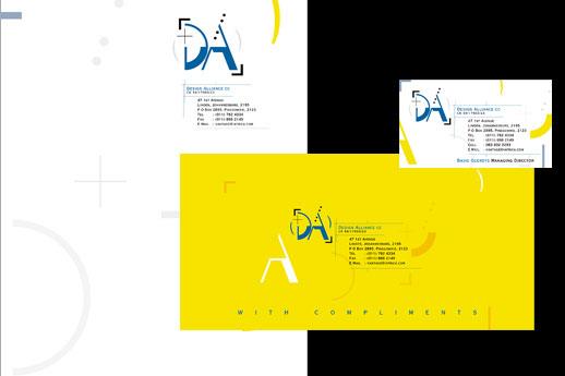Design Alliance Stationery