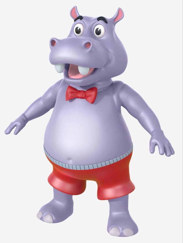 D.O.P HippoT Pose 1
