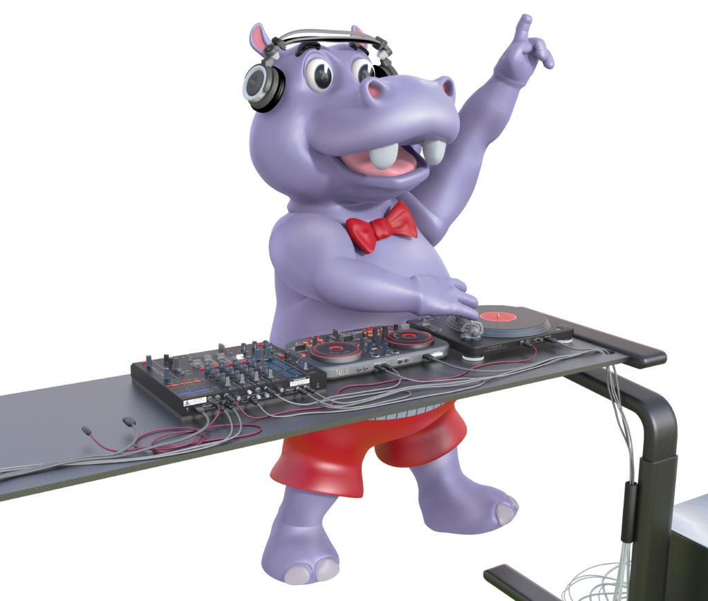 D.O.P Hippo DJ Pose 1