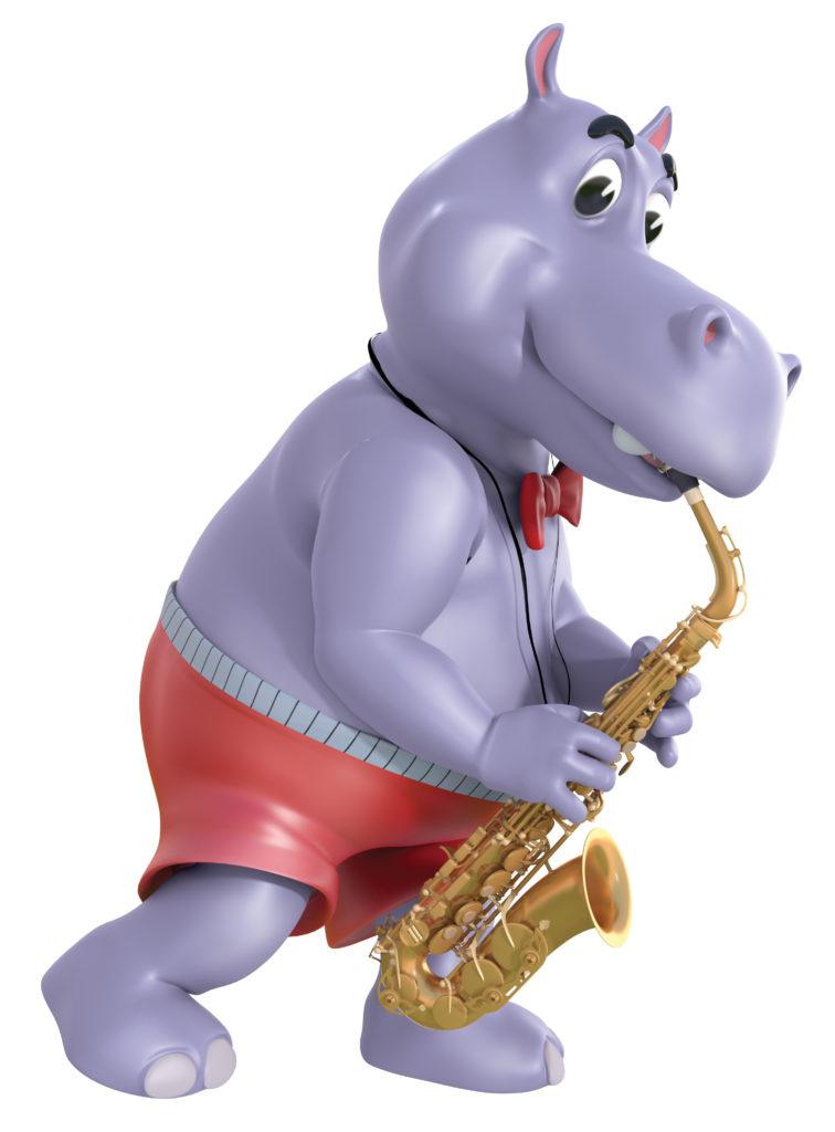 D.O.P Hippo Sax Pose 1